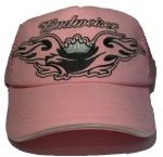 Officially Licensed Budweiser Wings - Pink Baseball Cap